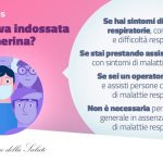MASCHERINE: IL MINISTERO DELLA SALUTE INDICA COME USARLE CORRETTAMENTE
