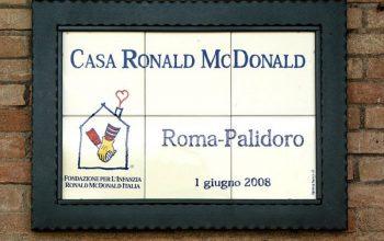 ROMA COLLI PORTUENSI. CASA RONALD MC DONALD PALIDORO CERCA VOLONTARI PER IL PERIODO NATALIZIO